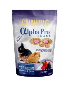 CUNIPIC Alpha Pro Snack Berry 50 g
