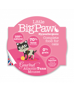 LBP Cat Atlantic Tuna Mousse 85g