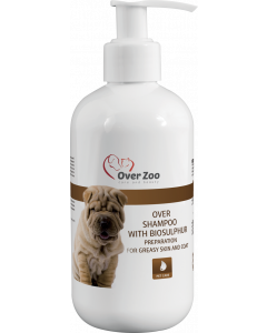 Over Zoo Shampoo for greasy fur 250ml